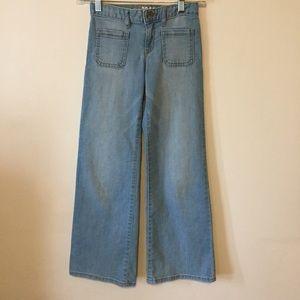 Girls Gap 1969 Flare jeans